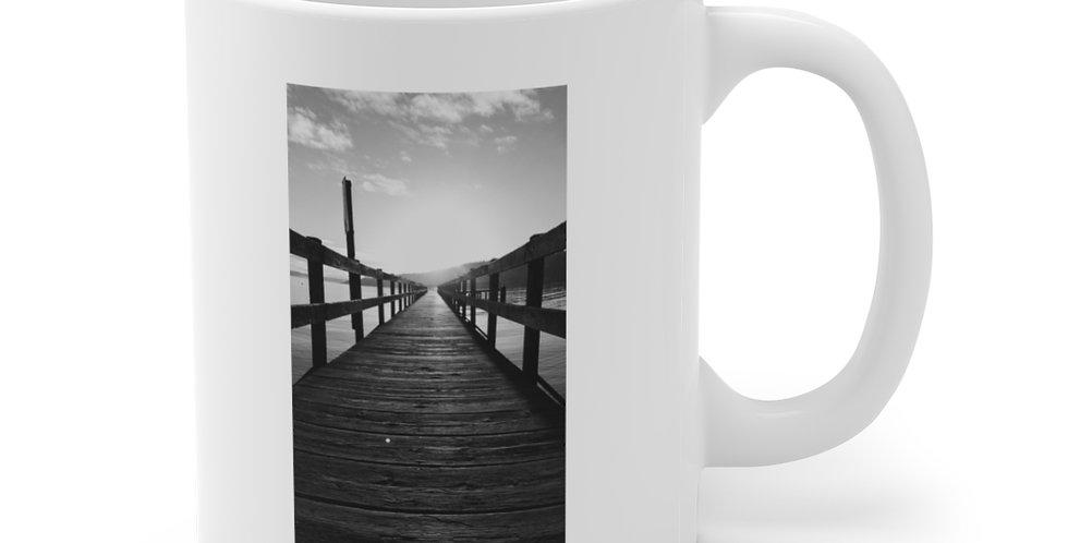 Pier/Get to the point Ceramic Mug