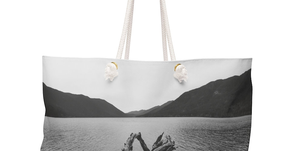 Lake Crescent  Weekender Bag
