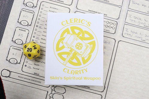 Cleric's Clarity