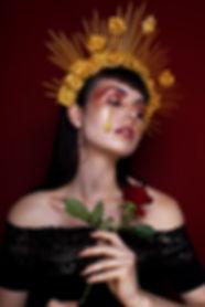 Gothic Spanish Queen Beauty Shoot
