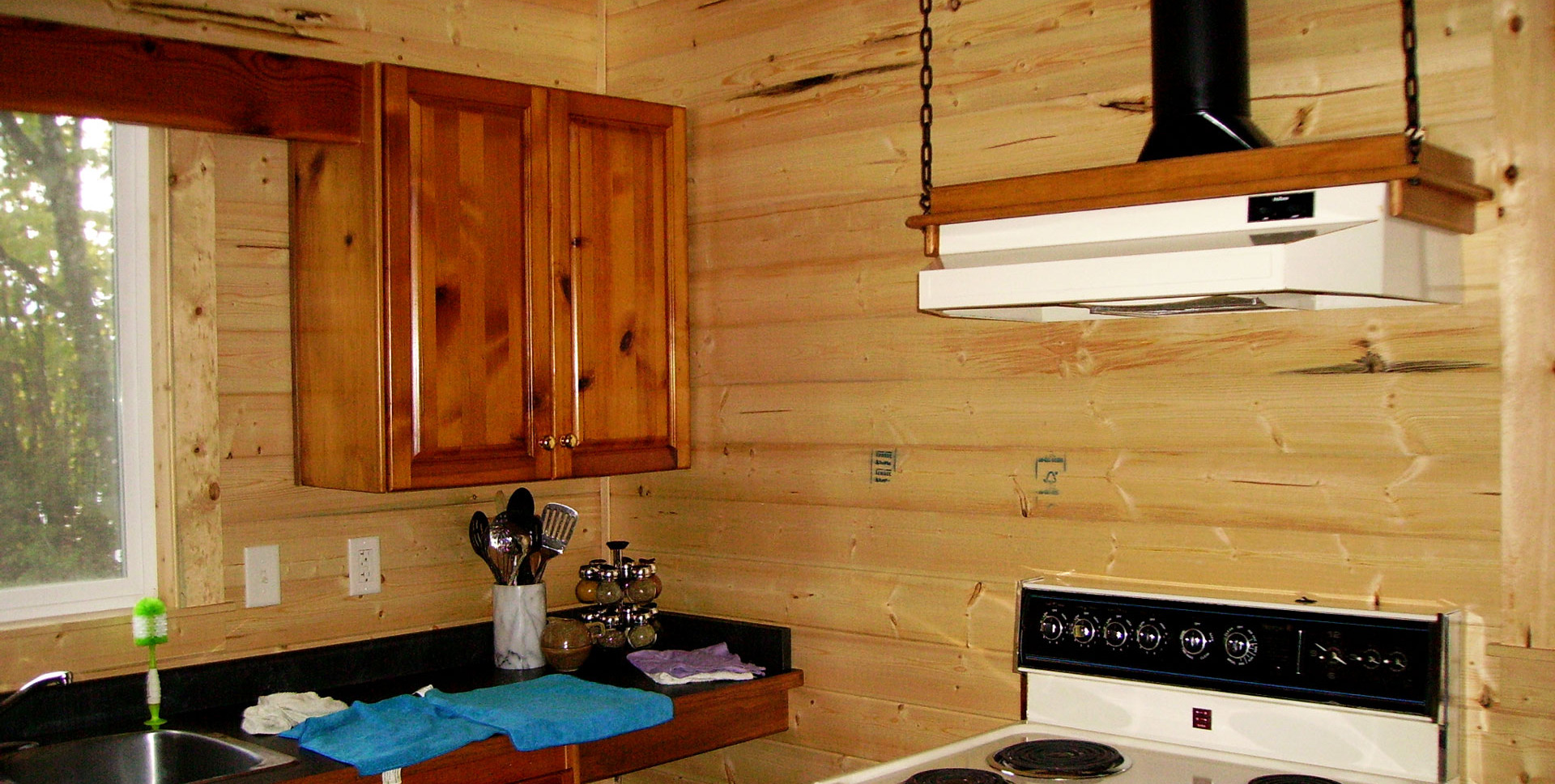 Renovated Cabin - Kitchen