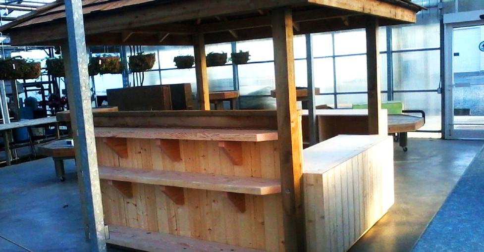Wooden Flower Stand