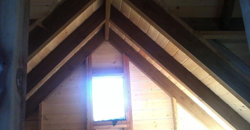 Wooden Tower Interior