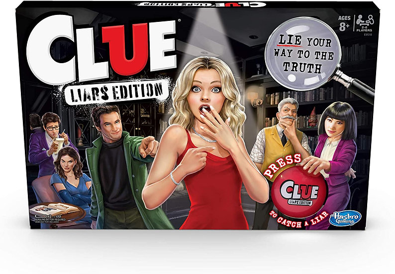Clue: Liar's Edition