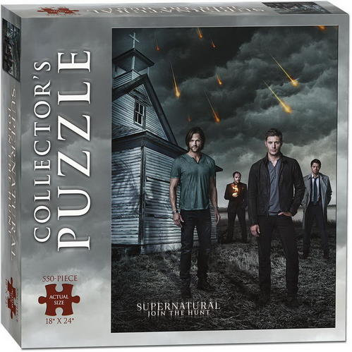 Surpernatural Collector Series Puzzle