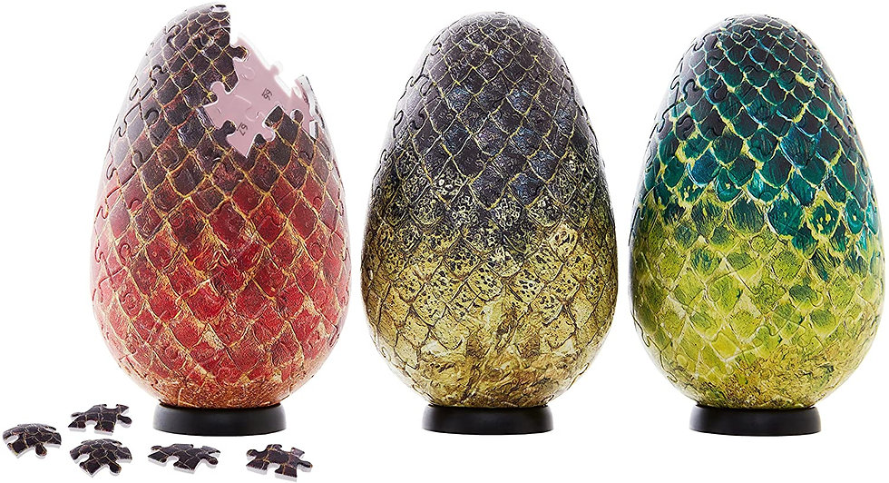 Game of Thrones Dragon Egg 3D Puzzle