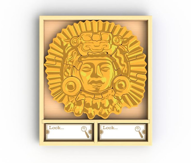 Hide & Solve Treasure Puzzle