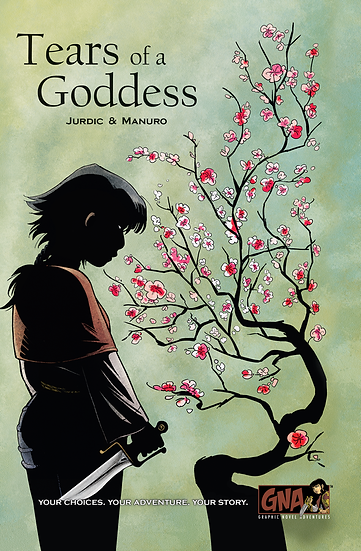 Graphic Novel Adventures- Tears of a Goddess