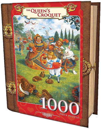 The Queen's Croquet Storybook Puzzle