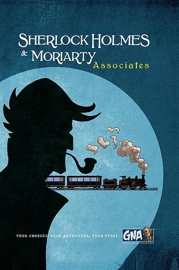 Graphic Novel Adventures- Sherlock Holmes & Moriarty: Associates