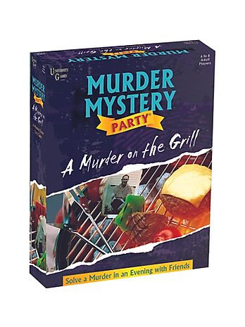 Murder Mystery: A Murder on the Grill