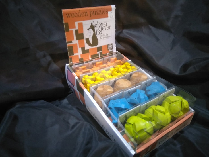 Clever, Clever Fox Wooden Puzzles