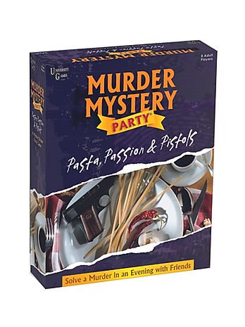 Murder Mystery: Pasta, Passion and Pistols