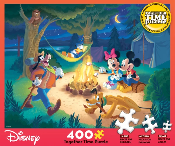 Together Time Puzzle: Disney Campfire