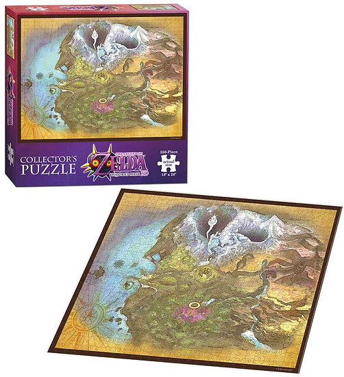 The Legend of Zelda: Map of Termina Collector Series Puzzle