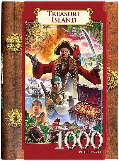 Treasure Island Storybook Puzzle