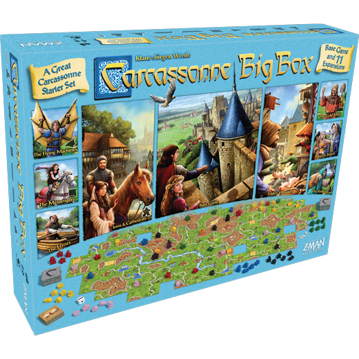 Carcassonne: Big Box