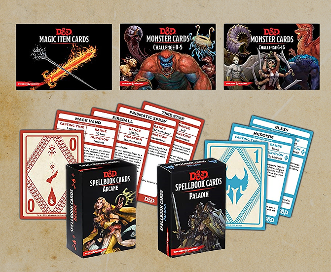 Dungeons & Dragons Reference Cards