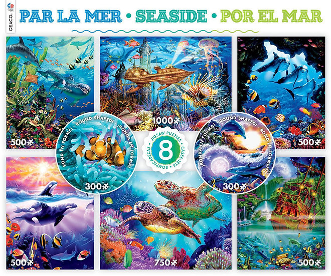 Seaside 8 in 1 puzzle