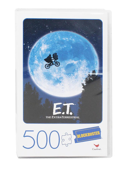 E.T. the Extra-Terrestrial 500 Piece Puzzle
