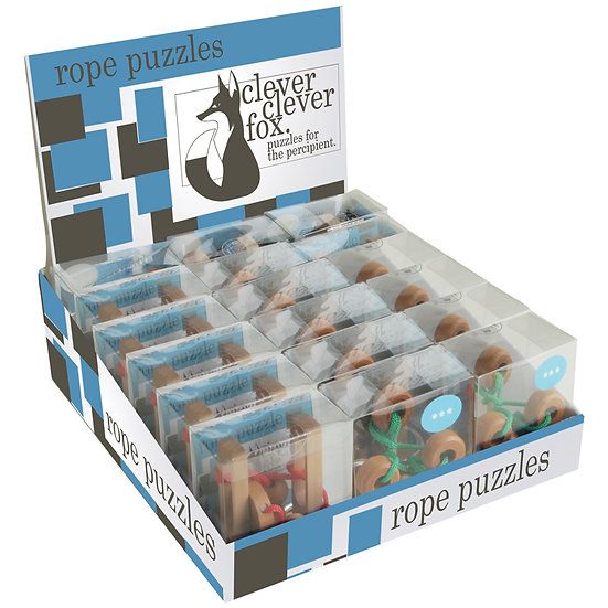 Clever, Clever Fox Rope Puzzles