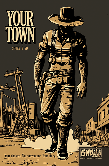 Graphic Novel Adventures- Your Town