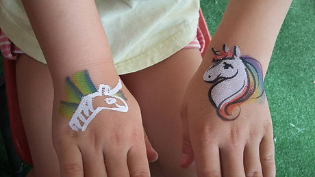 childrens entertainment Coolamon wagga dragontales face painting tanya menzies