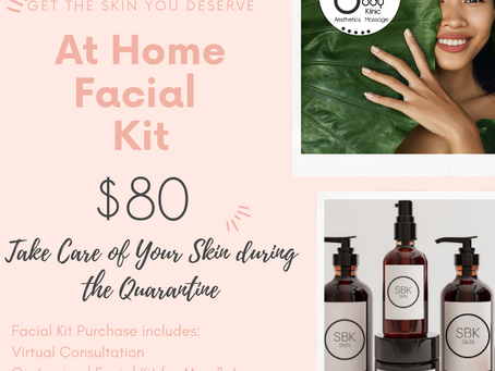 Take Your Facial Home!