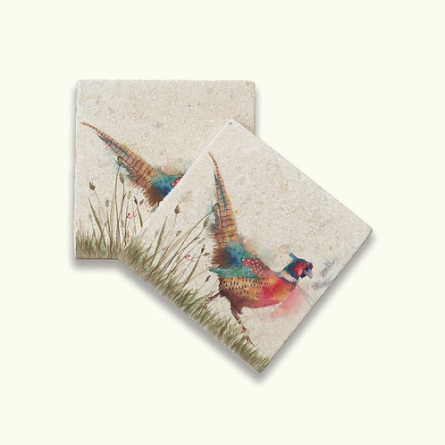 Kate of Kensington Pheasant Coasters