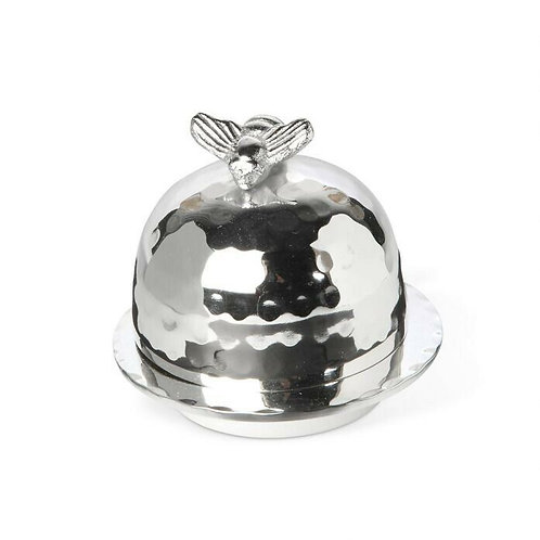 Honey Bee Small Domed Butter Dish