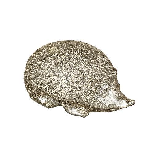 Large Sparkly Gold Hedgehog
