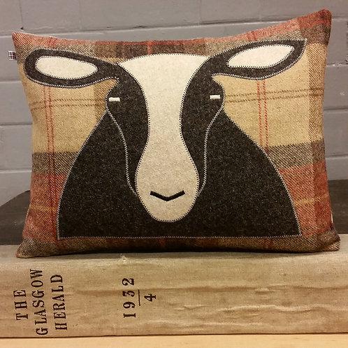 Handmade Sheep Cushion