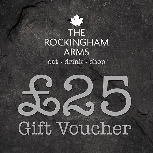 Posted £25 Gift Voucher