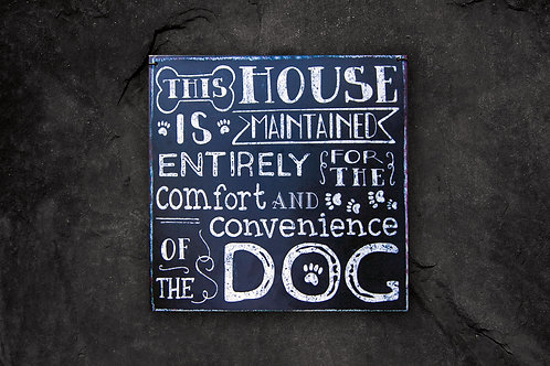 This house is maintained entirely for the....