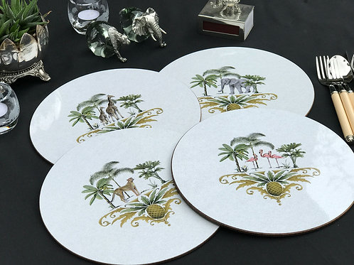 Out of Africa table mats - Set of 4