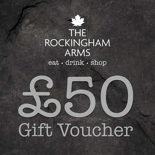 Posted £50 Gift Voucher