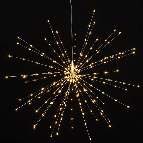 50cm Mains Copper Starburst Light