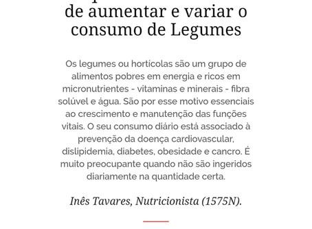7 Formas de aumentar e variar o consumo de Legumes