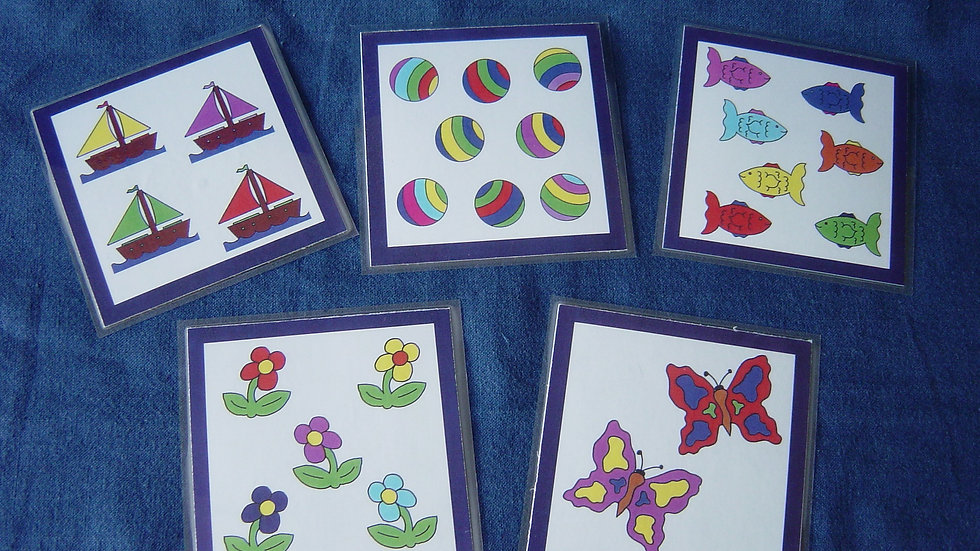 Number Picture Cards