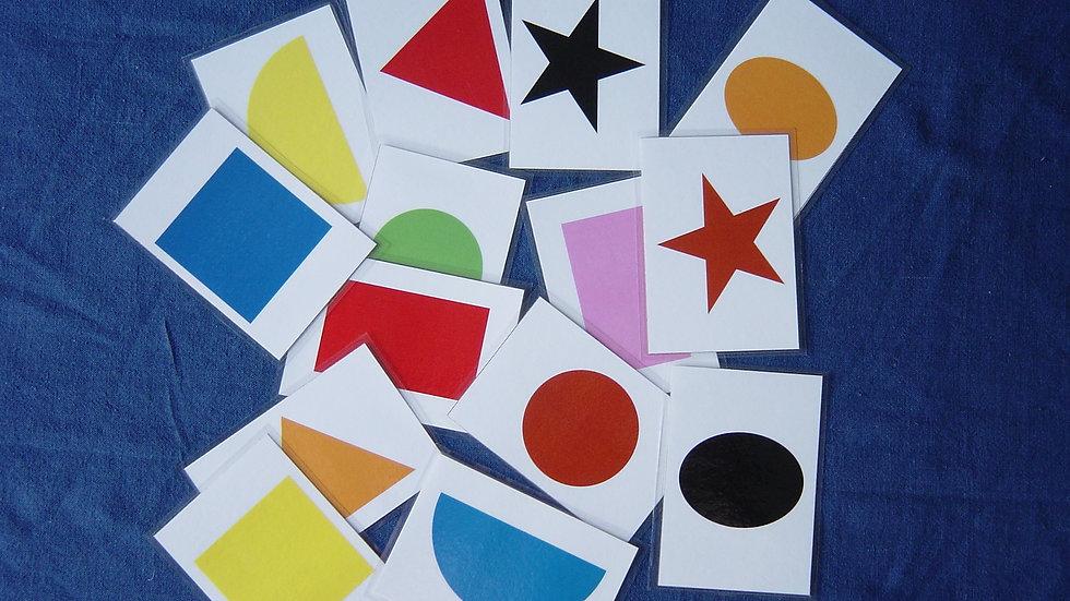 Colour Shape Cards