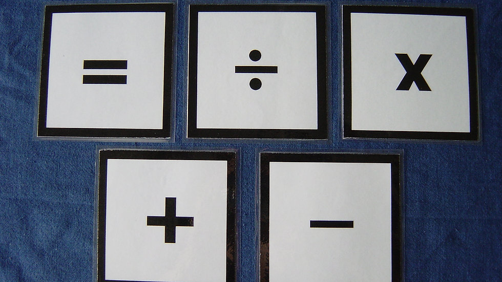 Mathematical Signs