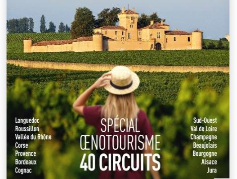 """Le Domaine Rouger dans le hors-série spécial œnotourisme du magazine """"Terre de Vins"""""""
