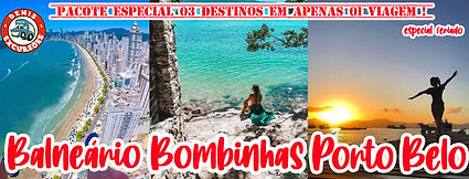 BOMBINHAS  BALNEARIO E PORTO BELO DENIS EXCURSOES