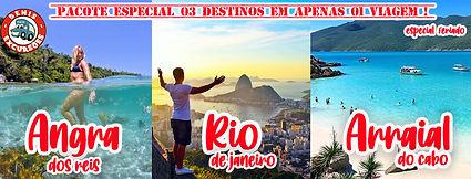 ANGRA COM  RIO E ARRAIAL DENIS EXCURSOES