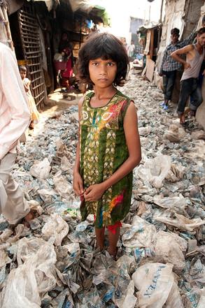 Poornami, 8, New Delhi Landfill Picker