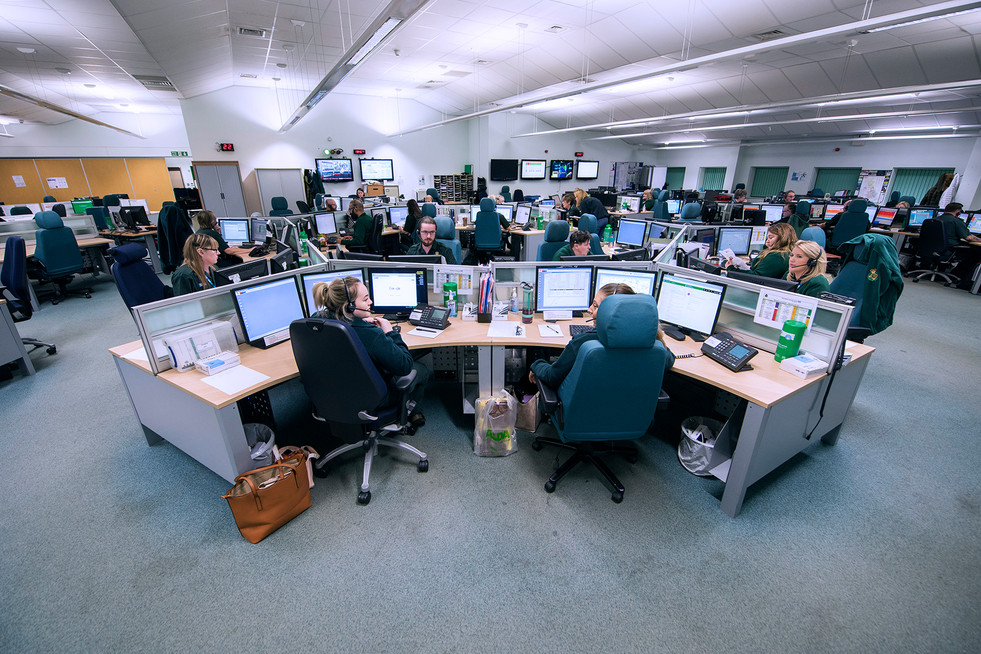 Stafford Ambulance Control Centre