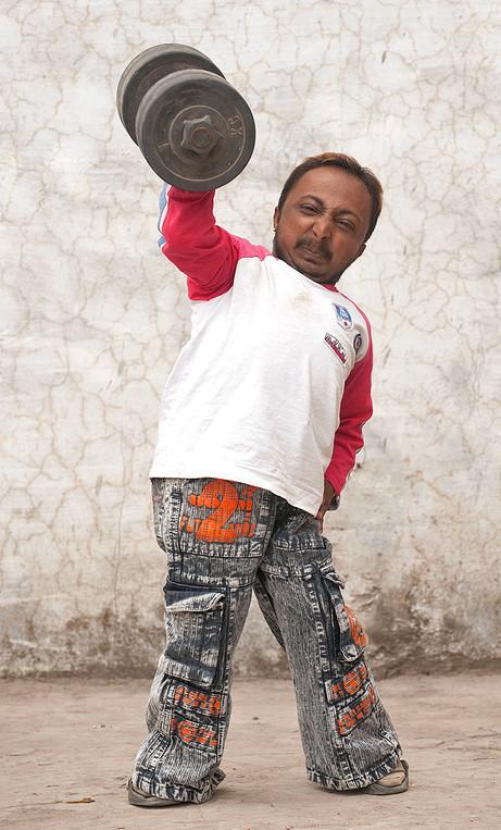 Romeo Dev, The Worlds Shortest Body Builder