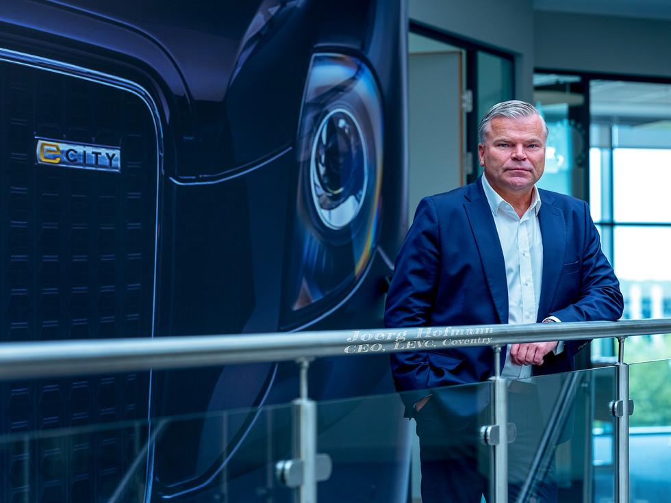 Joerg Hoffman, CEO of LEVC