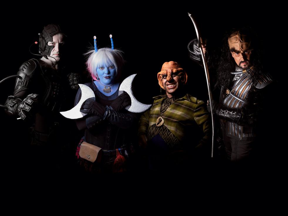Star Trek Cosplay fans, Birmingham NEC