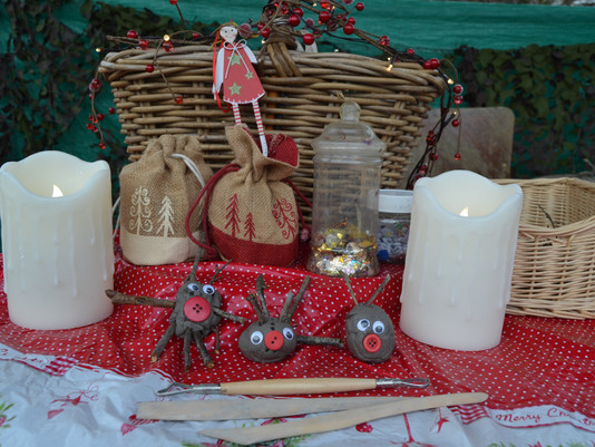A Rustic Christmas Craft!
